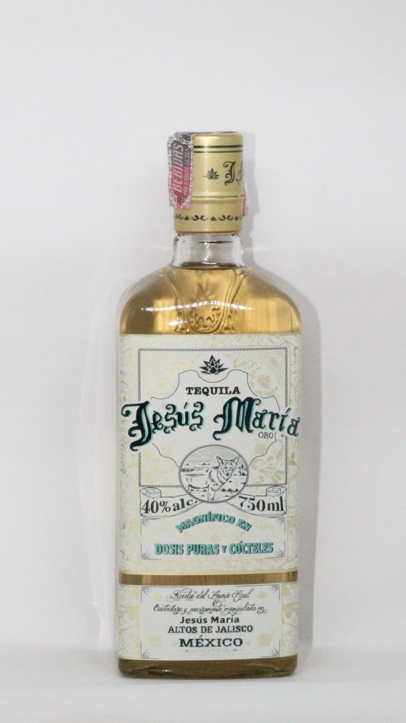 TEQUILA JESUS MARIA GOLD - 750ml