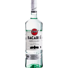 RUM BACARDI - CARTA BLANCA - 980ml