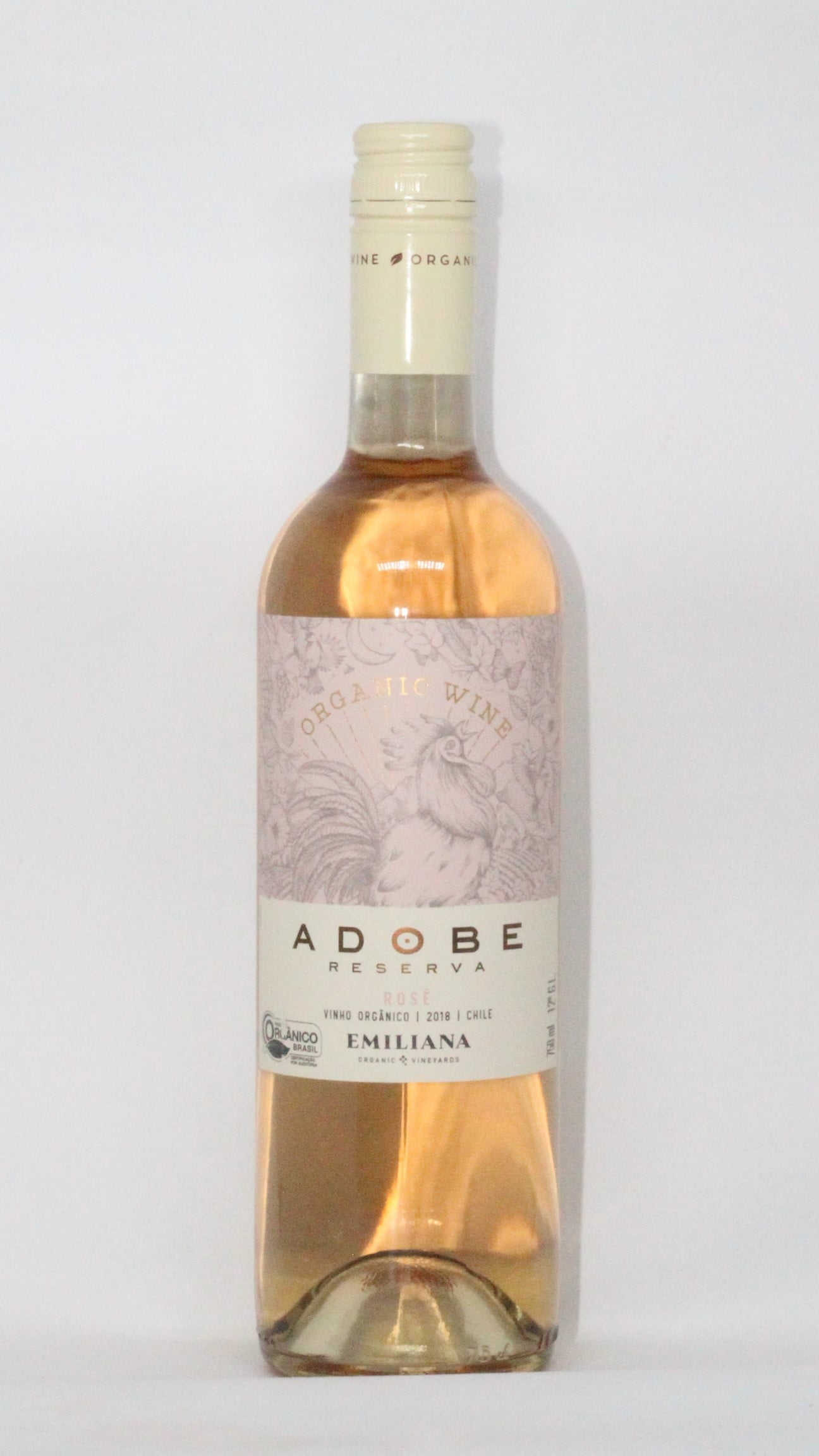 VINHO ROSE ORGANICO ADOBE - 750ml