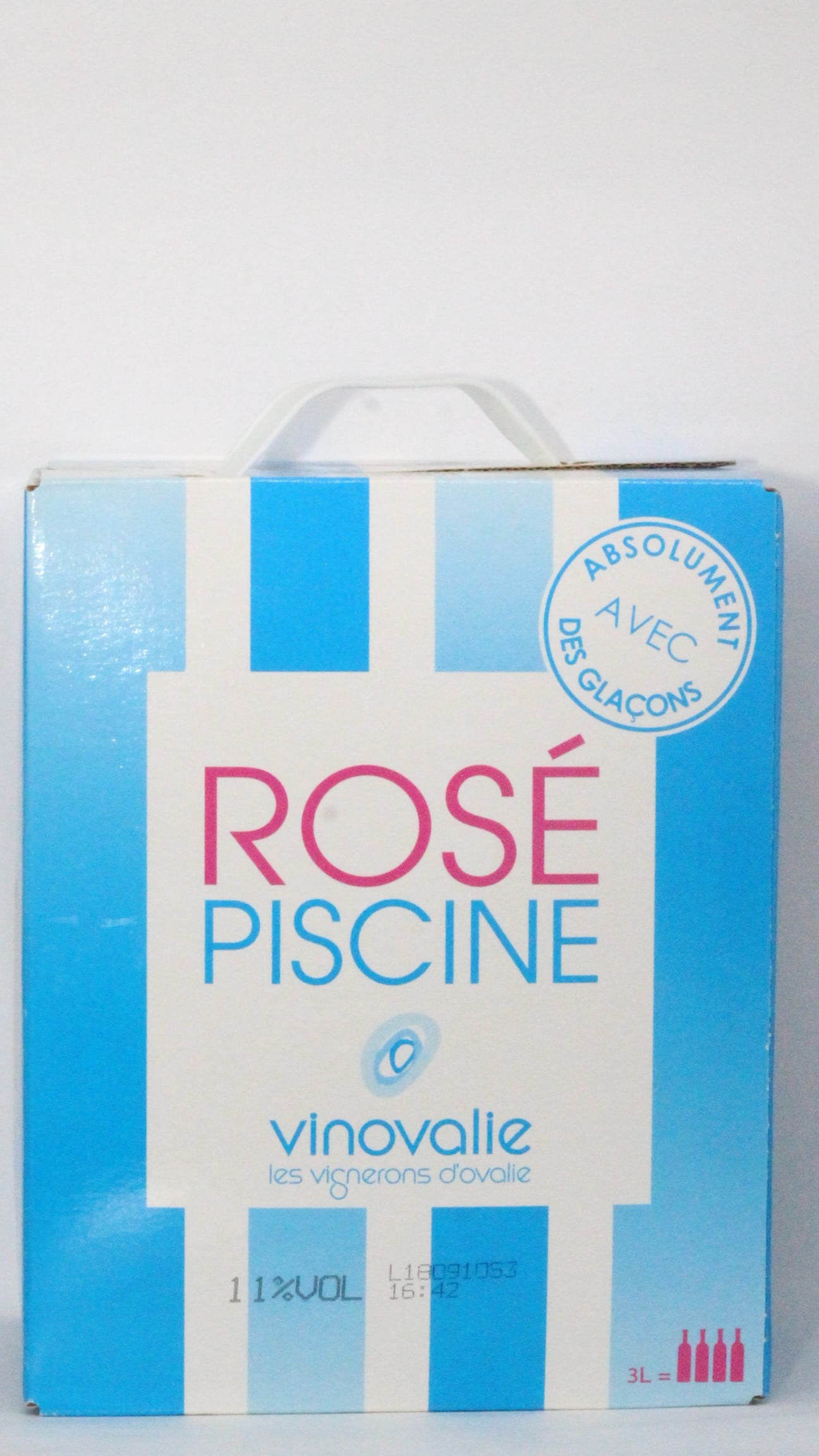 VINHO ROSE PISCINE - WINE IN BOX - 3 LITROS